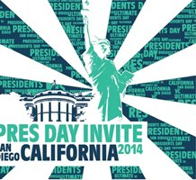 2014 President's Day Invite Logo