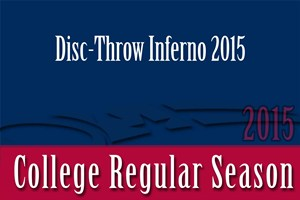 Disc-Throw Inferno 2015