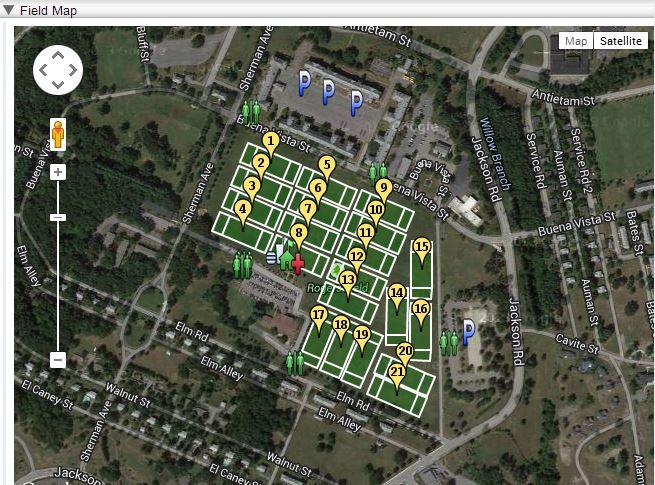 Devens Field Map