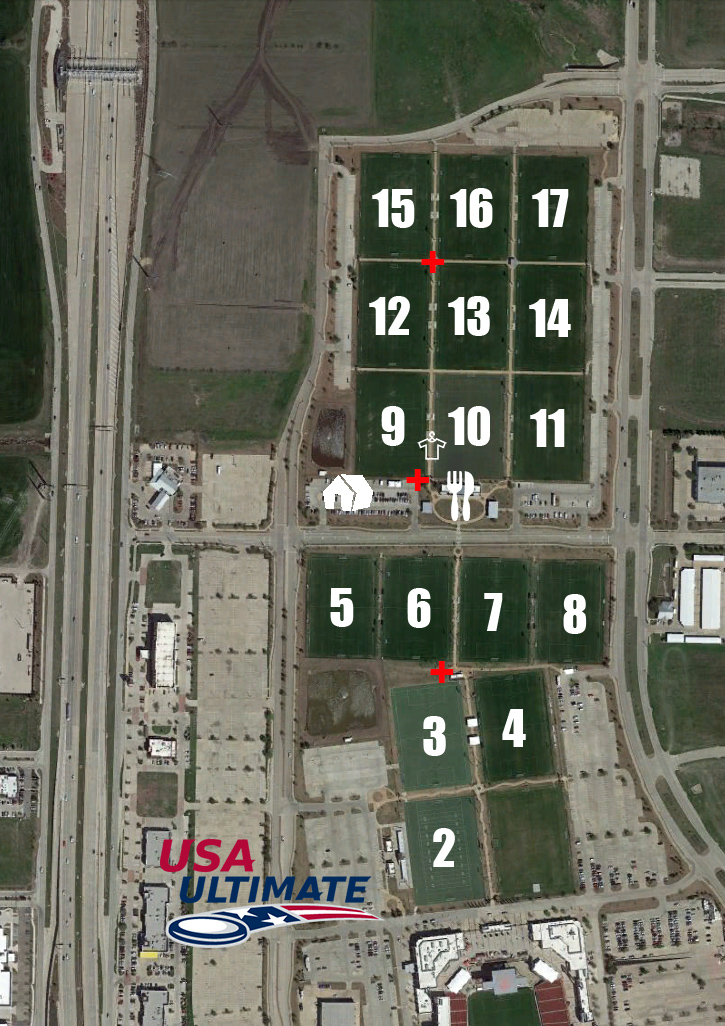Colorado Springs Toyota >> Event Field Map | Play USA Ultimate