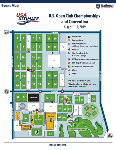Event Field Map | Play USA Ultimate on blaine national sports center map, providence park field map, blaine sports complex field map, national sports complex field map,